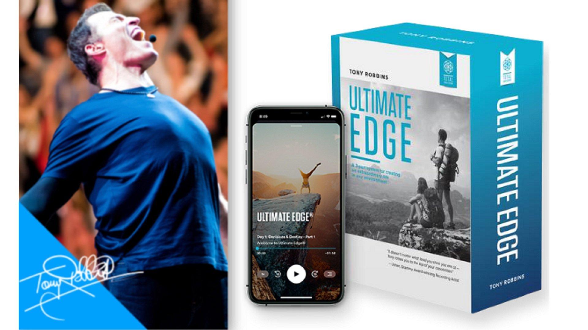 KBB Course Bonus: Tony Robbins Ultimate Edge - Knowledge Broker Blueprint