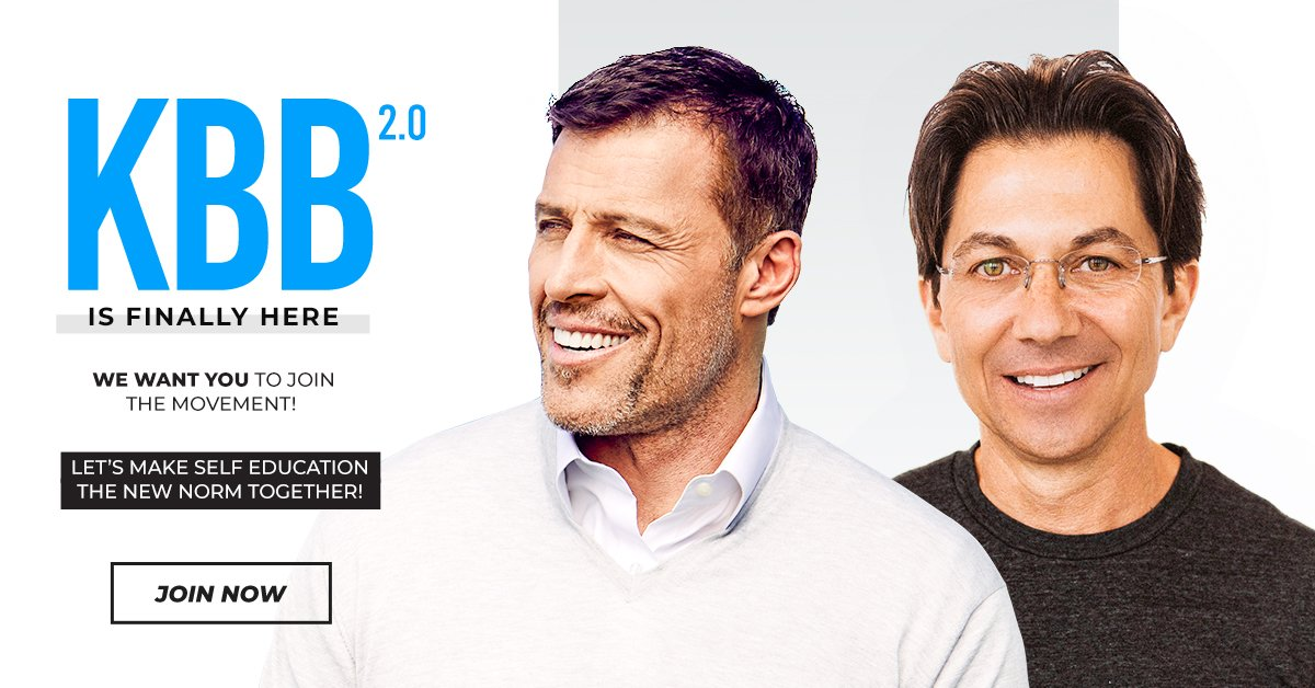 KBB Course Knowledge Broker Blueprint Tony Robbins Dean Graziosi